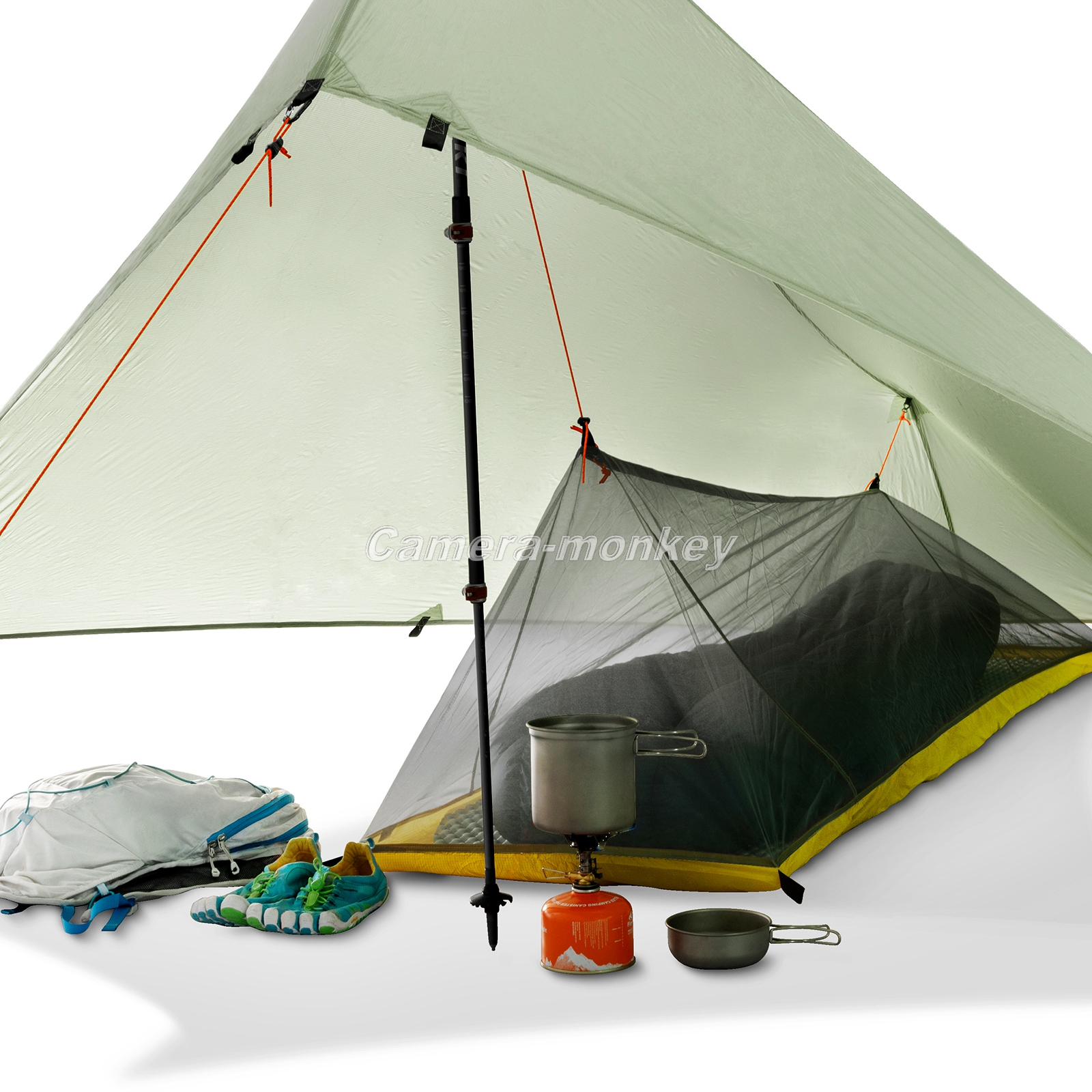 UK SELLER Outdoor Camping Shelter Waterproof Pop Up Awning ...